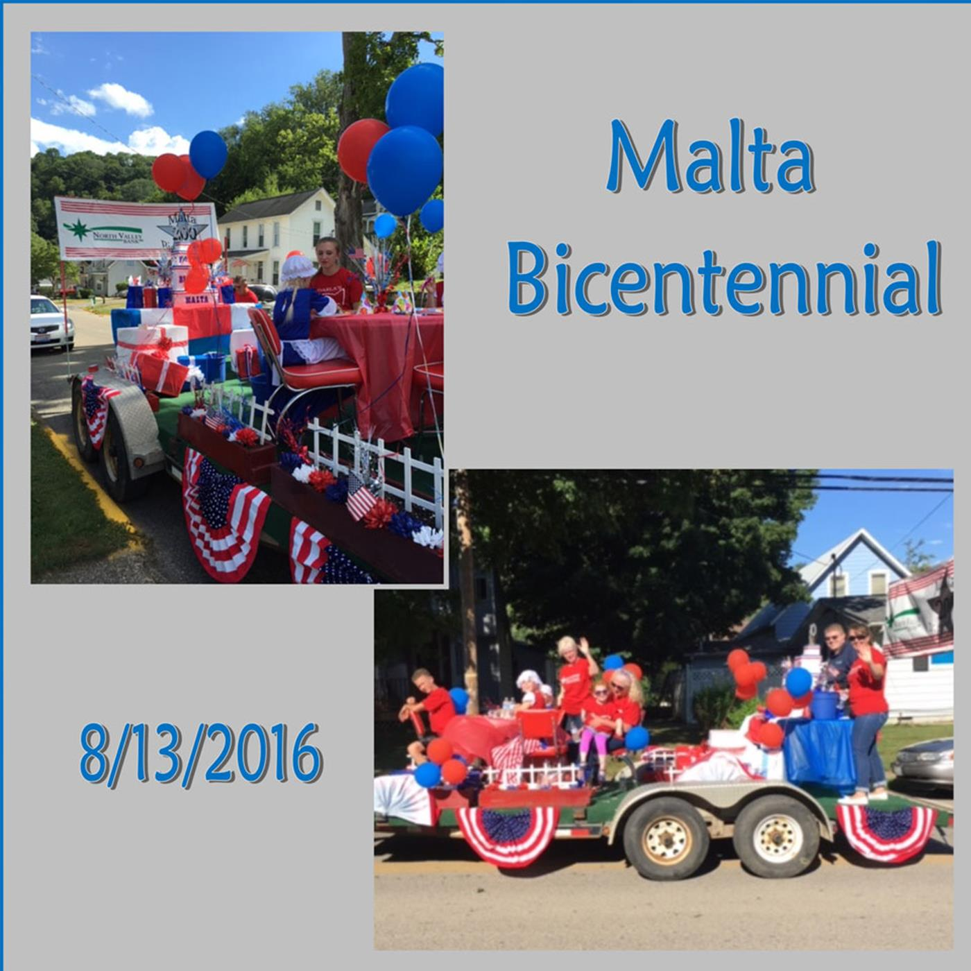 North Valley Bank Malta Bicentenial 2016